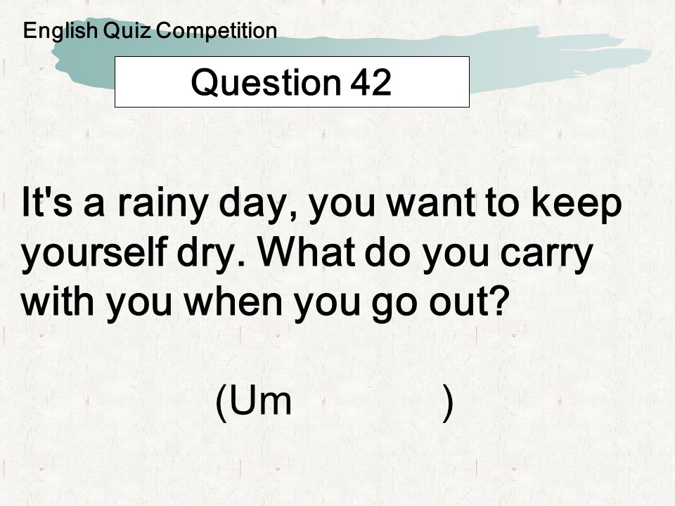 Question 43 Which of the following is a duty of public health centers?( ) Prevention wild fire Operation of 119 Examining health English Quiz Competition