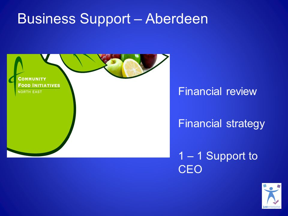 Business Support – Argyll & Bute Business planning Detailed action planning in relation to start up tasks.