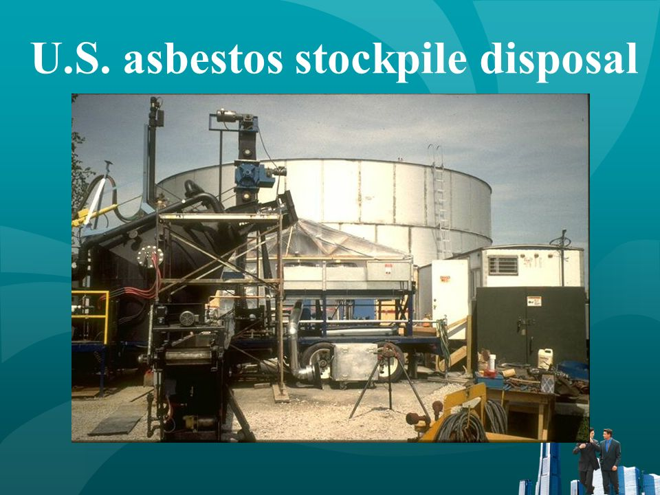 French Asbestos-Containing Materials (ACM) disposal system