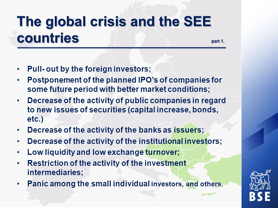 The global crisis and the SEE countries part 2.