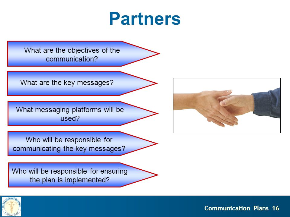 17Communication Plans Public What are the objectives of the communication.