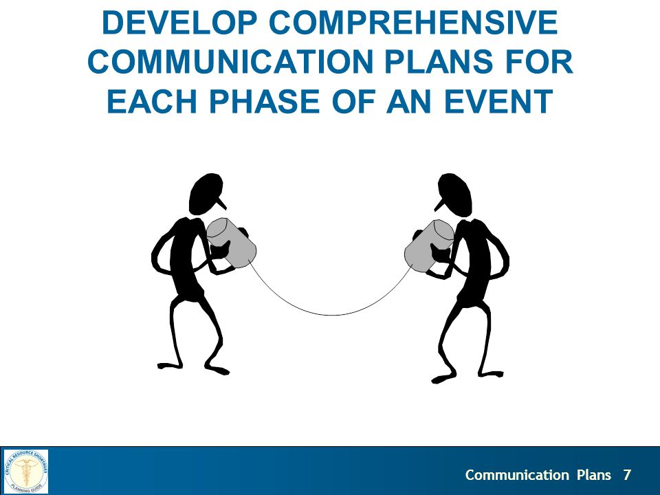 8Communication Plans Communication Plan What are the objectives of the communication.