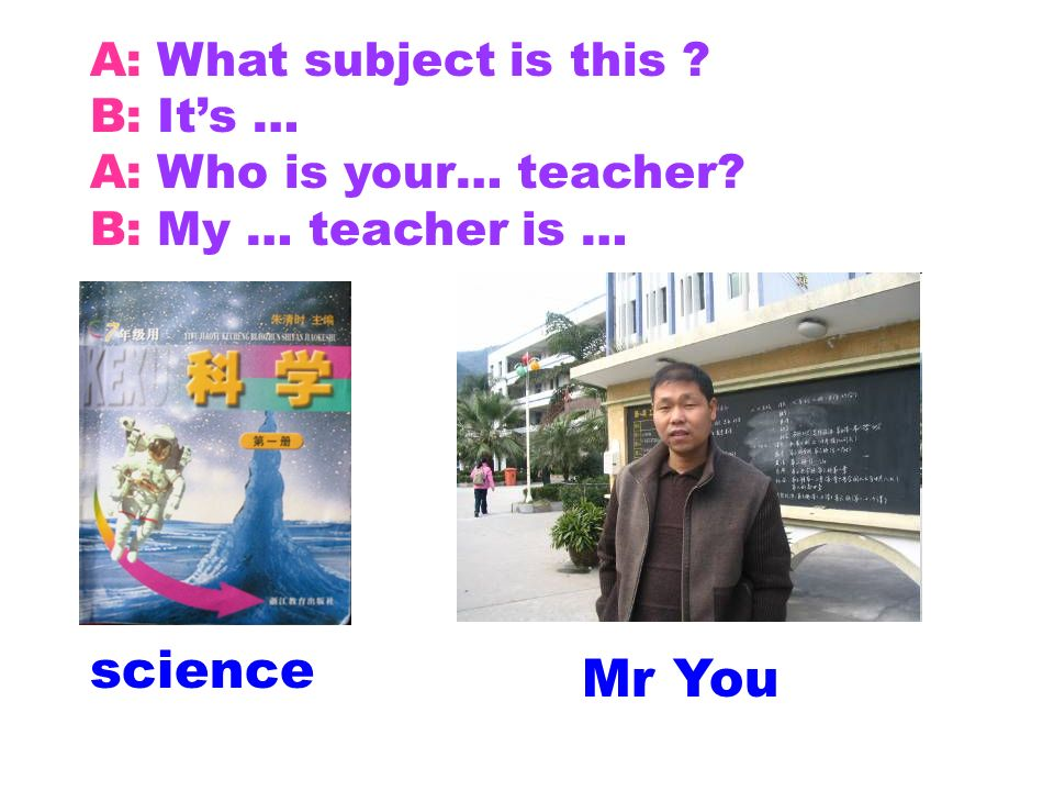 science Mr You