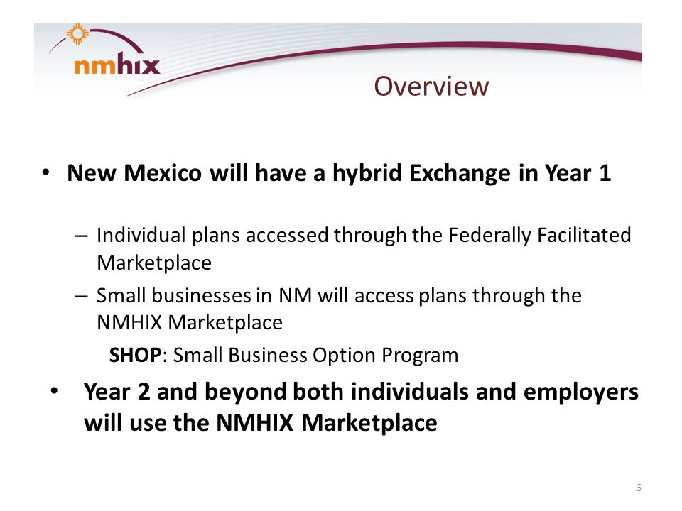 Overview Marketing & Outreach BVK was selected as the marketing vendor for NMHIX.