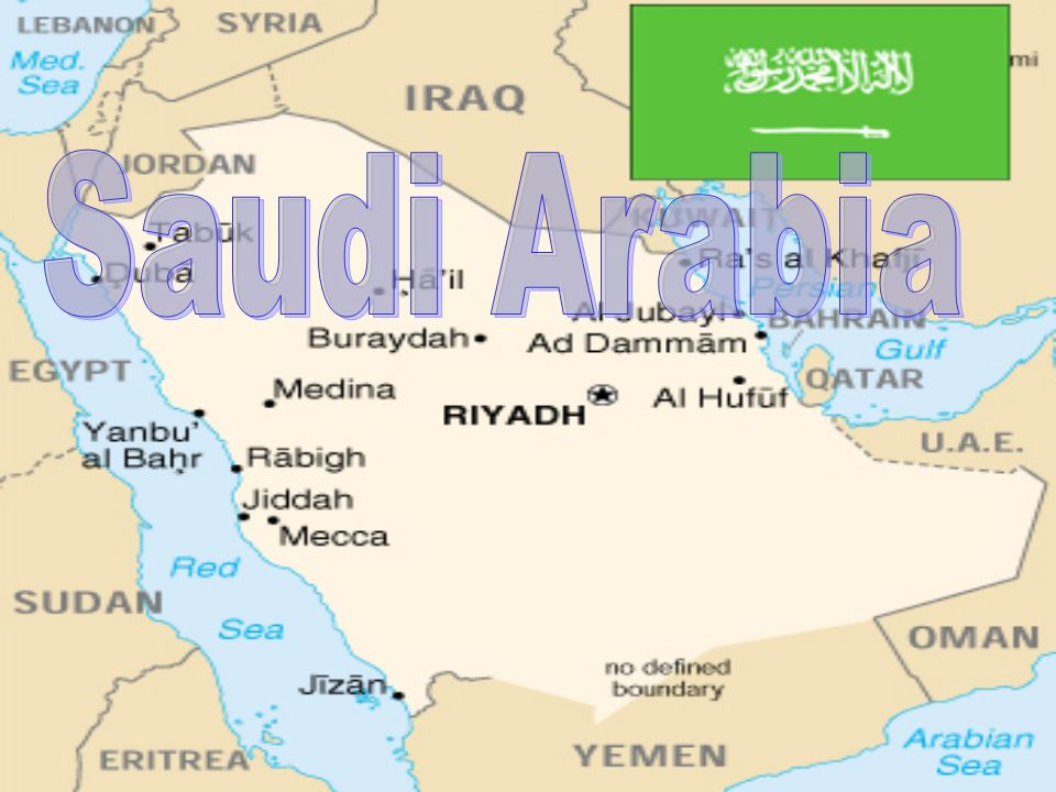 Saudi Arabian Map