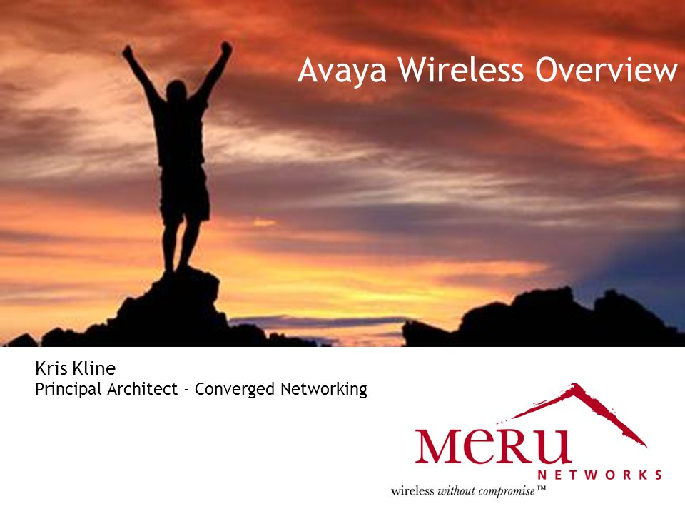 Meru Confidential and Proprietary25 Avaya Next Generation WLAN Overview l Replacing various globally deployed Avaya/Lucent vintage.11B WLAN equipment l Using Meru AP208 A/B/G radios at all locations l Meru WLAN Selected – l Ease of Deployment – Single Channel l Voice Prioritization Capability l Fast Handoff While Roaming l Ability to Develop Avaya Features