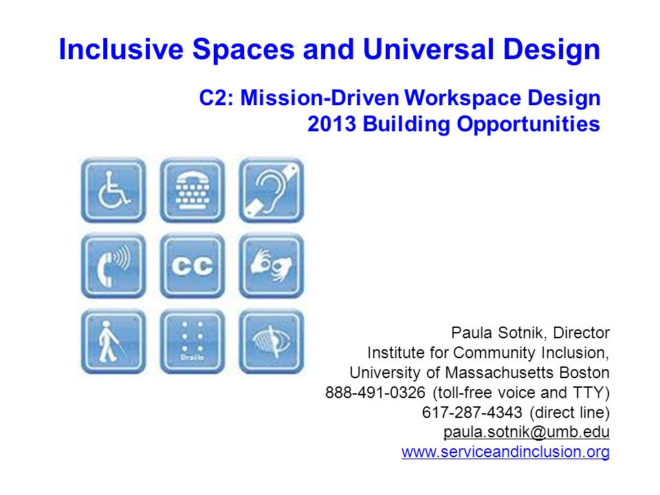 What in world is Universal Design?