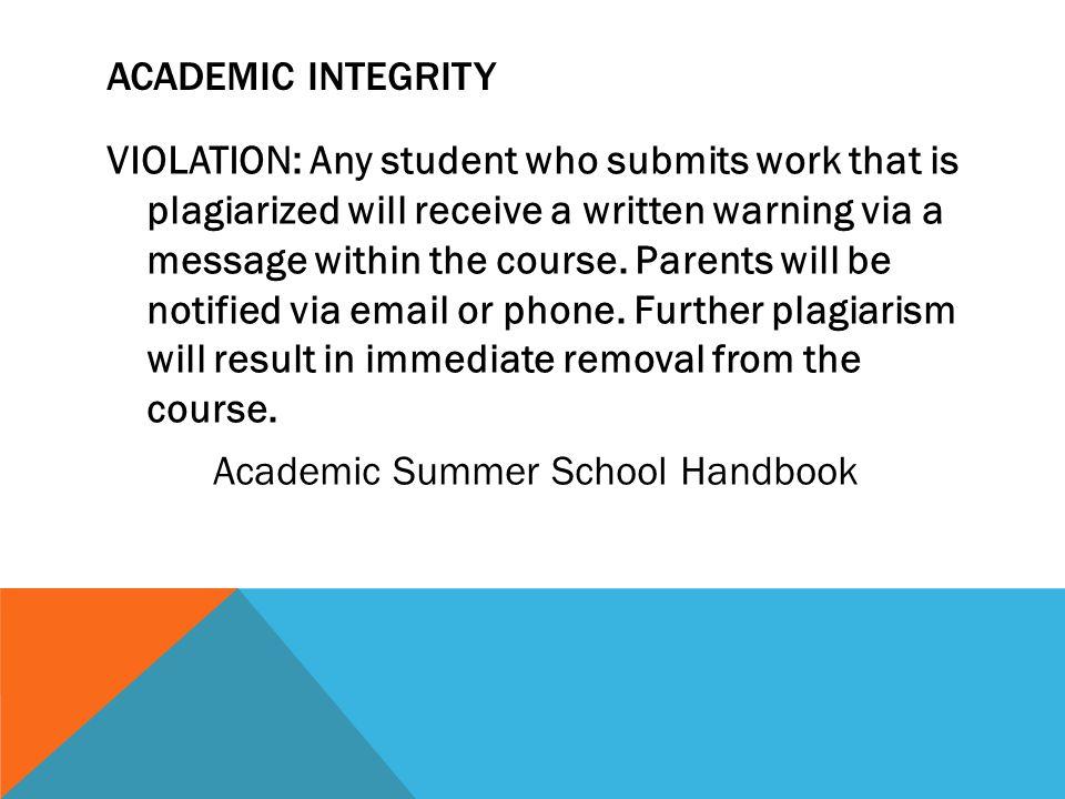 ANY QUESTIONS??? Academic Summer School Coordinator (570) 544-9131 x1276