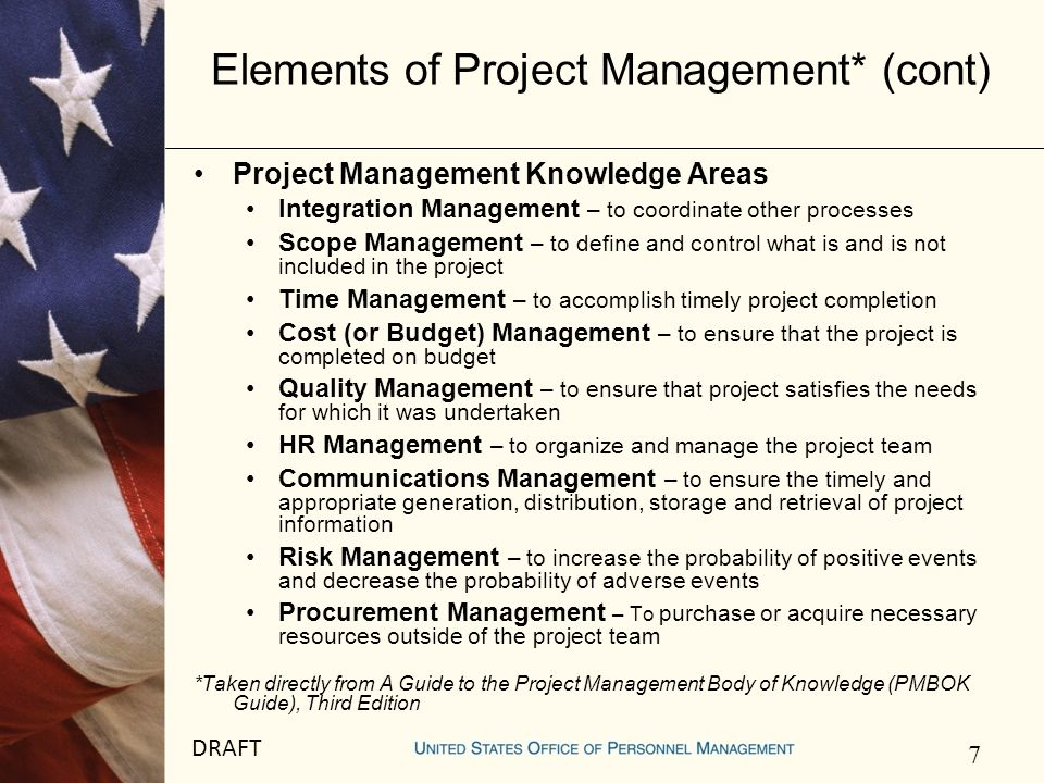 8 DRAFT Future PM Support CMB Project Management Support the organization in delivering solutions to customers Become Center of Excellence for project management Develop processes, tools, etc.
