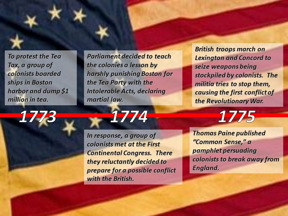 Colonial leaders met again at the Second Continental Congress.