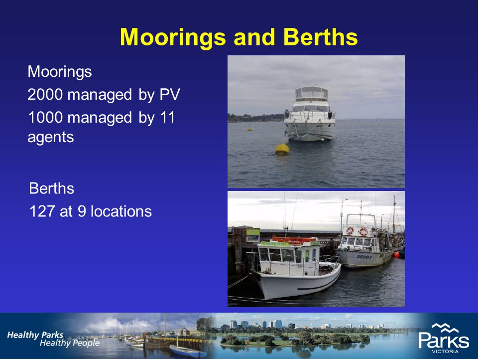 Hampton Swing Moorings Current Situation 52 Authorised Moorings at Hampton, held by 46 individuals – some with multiple moorings.