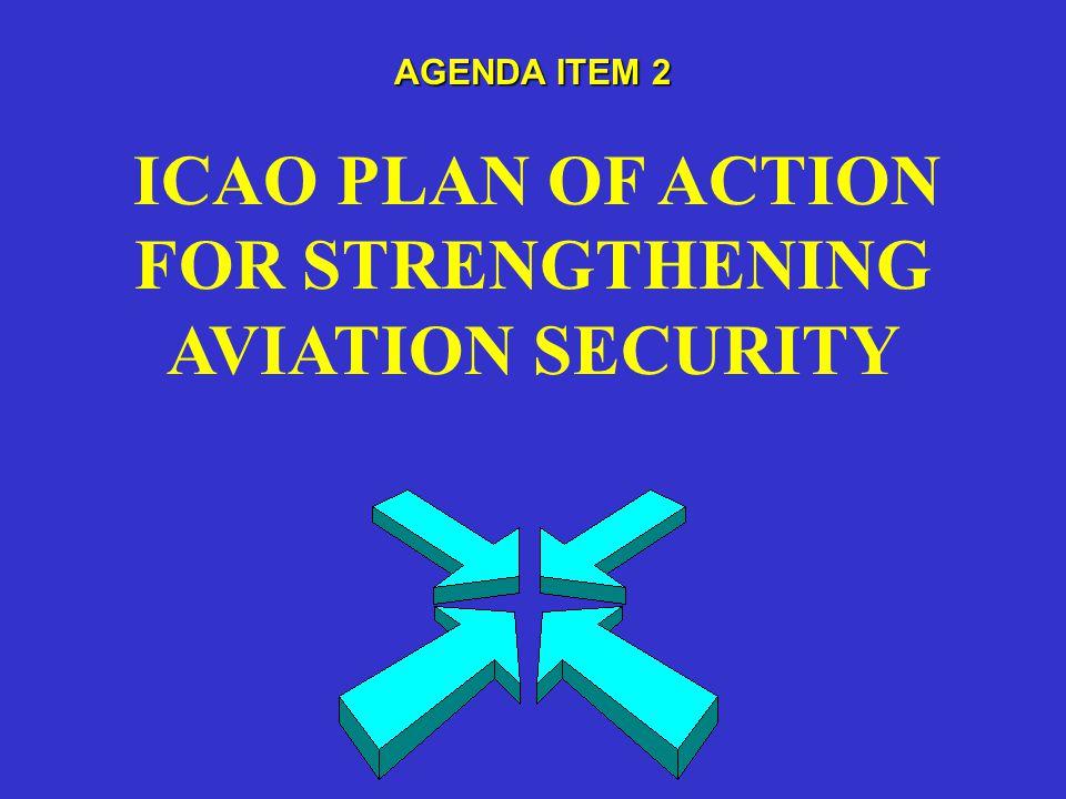 AGENDA ITEM 3 ICAO UNIVERSAL SECURITY AUDIT PROGRAMME