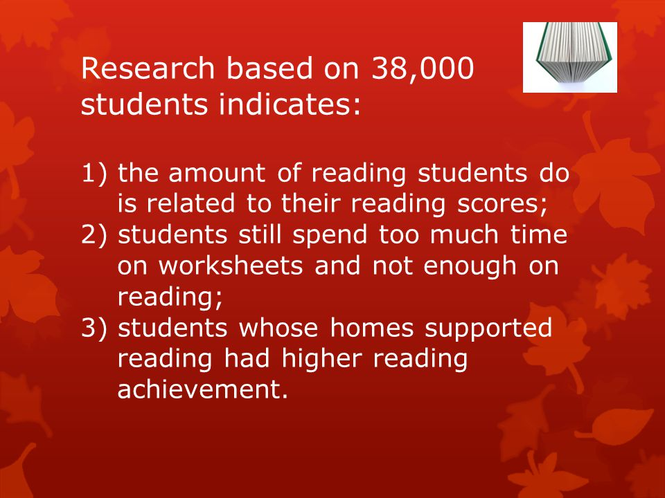The amount of reading done even by disabled students is positively correlated to reading achievement