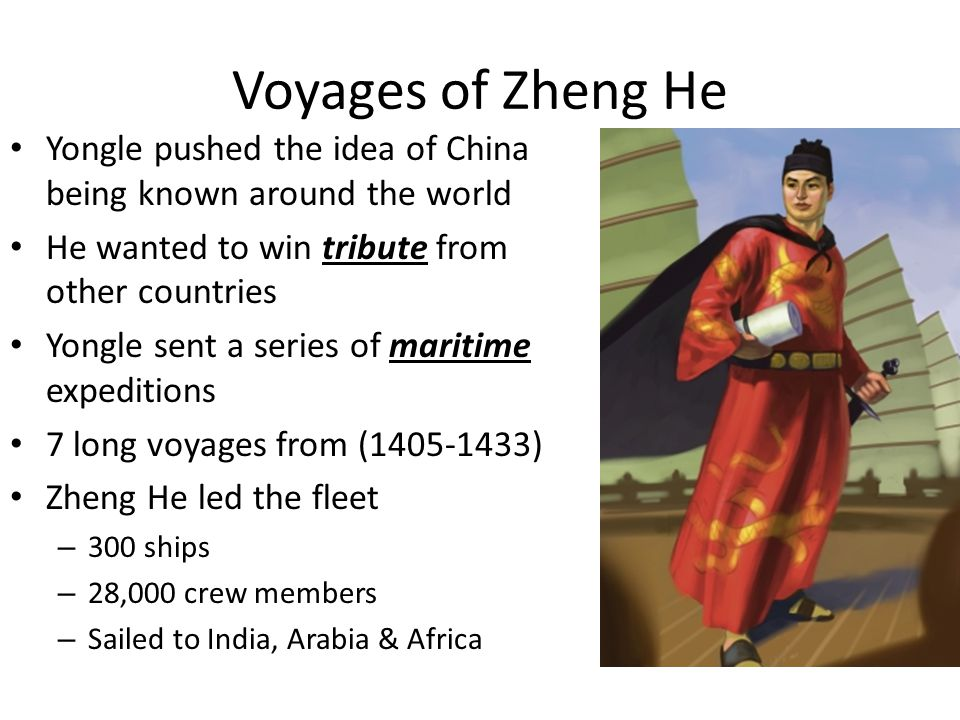 Change in Government Policy After Yongle and Zheng He died, many felt that the voyages brought little gain to China China was concerned with threats of invasion from Central Asia Ming government ended all maritime voyages China did however continue to trade with European ships