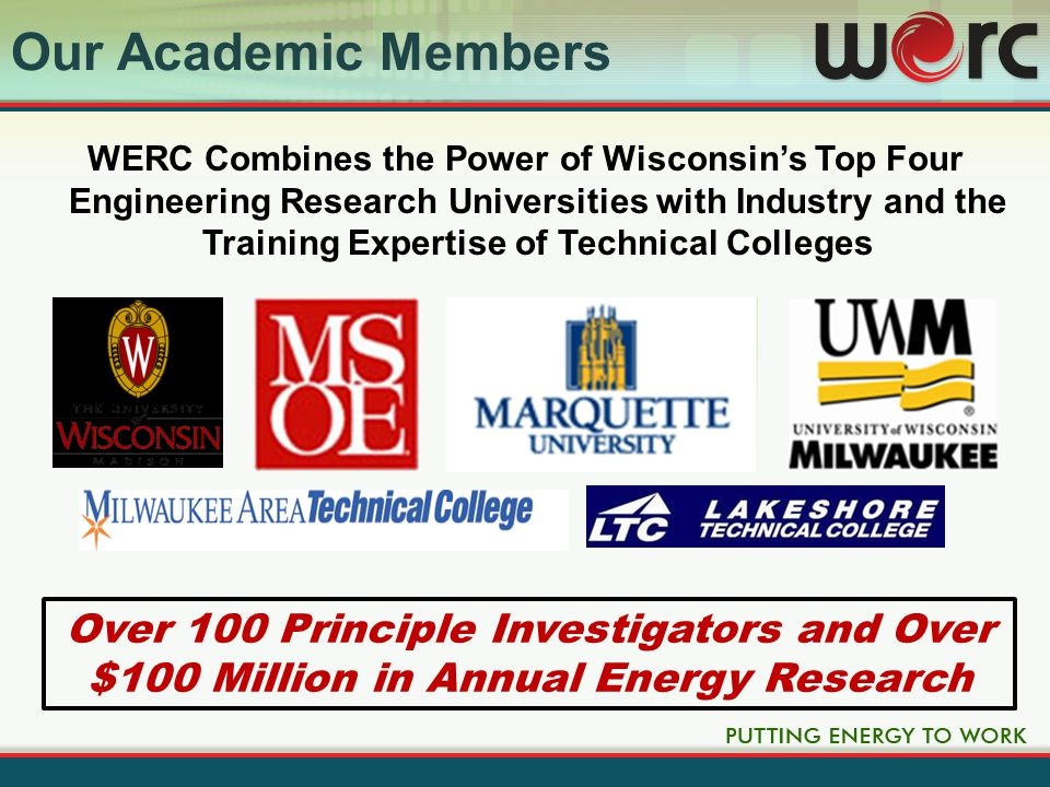 14 UWM Battery Test System Marquette Borg Wind Tunnel MSOE Hydraulic Simulator Testbed UW-Madison Electric Machines Lab University Lab Facilities
