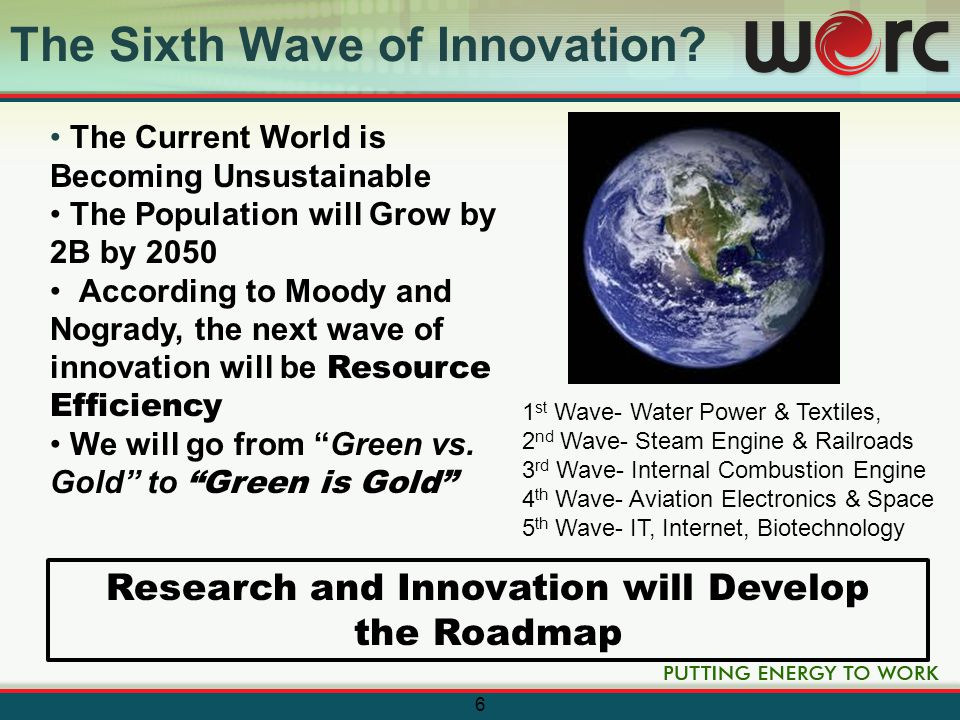 The Future in 2020* Solar and Wind Resources 20-30% of Electricity Generation Capacity Explosive Growth of Millions of Grid-connected EV's The Eventual Death of Compact Florescent Favoring LED Technology Low-cost, Competitive Green Buildings that Produce More Energy then they Consume Waste Streams Becoming a Common Feedstock for New Materials and Energy Production 7 * Source: Clean Edge Study - 2011 Clean Tech Trends/Projections