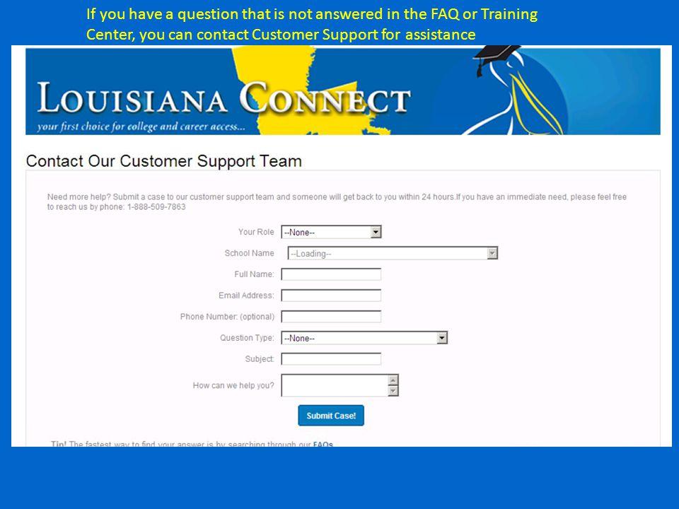 Coming Soon: The Louisiana Connect Mobile App www.osfa.la.gov