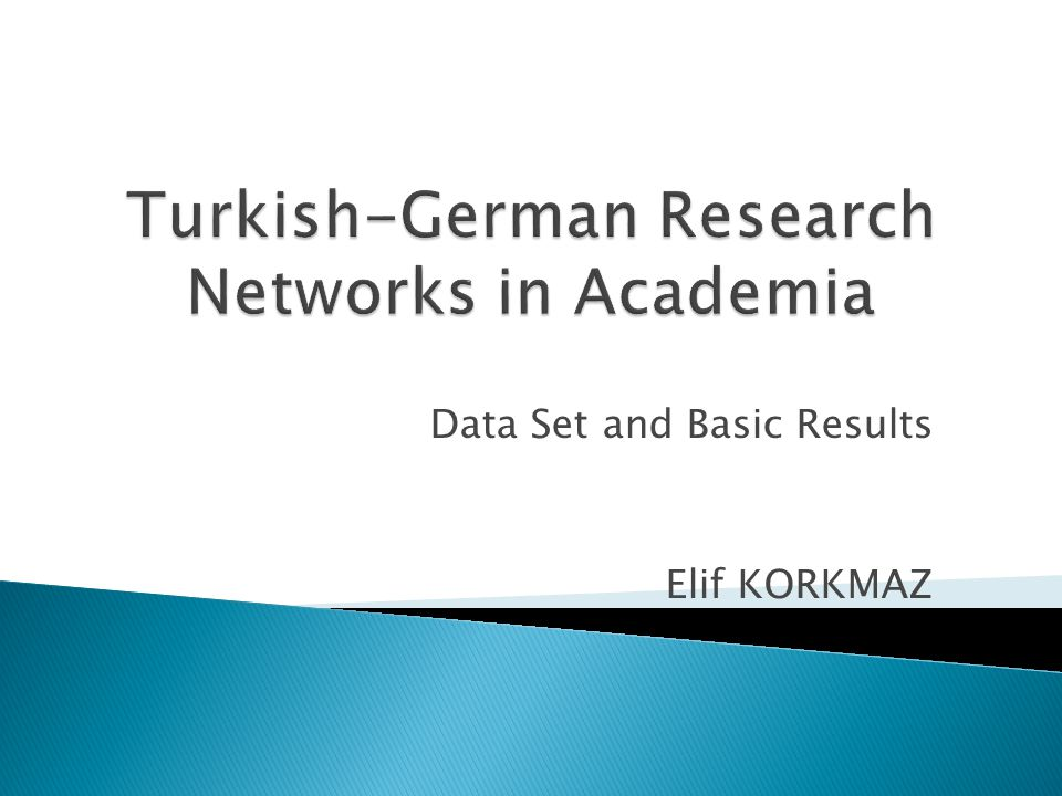  This data set was created to analyze research networks of the European Framework Programmes FP5, FP6 and FP7 that Turkey and Germany has a collaborative project.