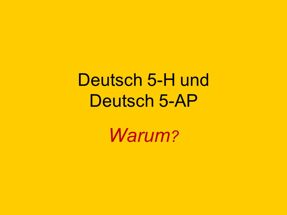 General benefits of continuing in German 5: 1.