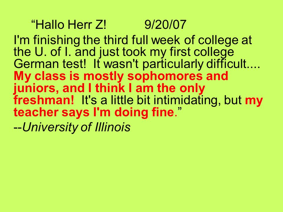 3-04-08(re: 2006 grad) Guten Tag Herr Ziarnik.
