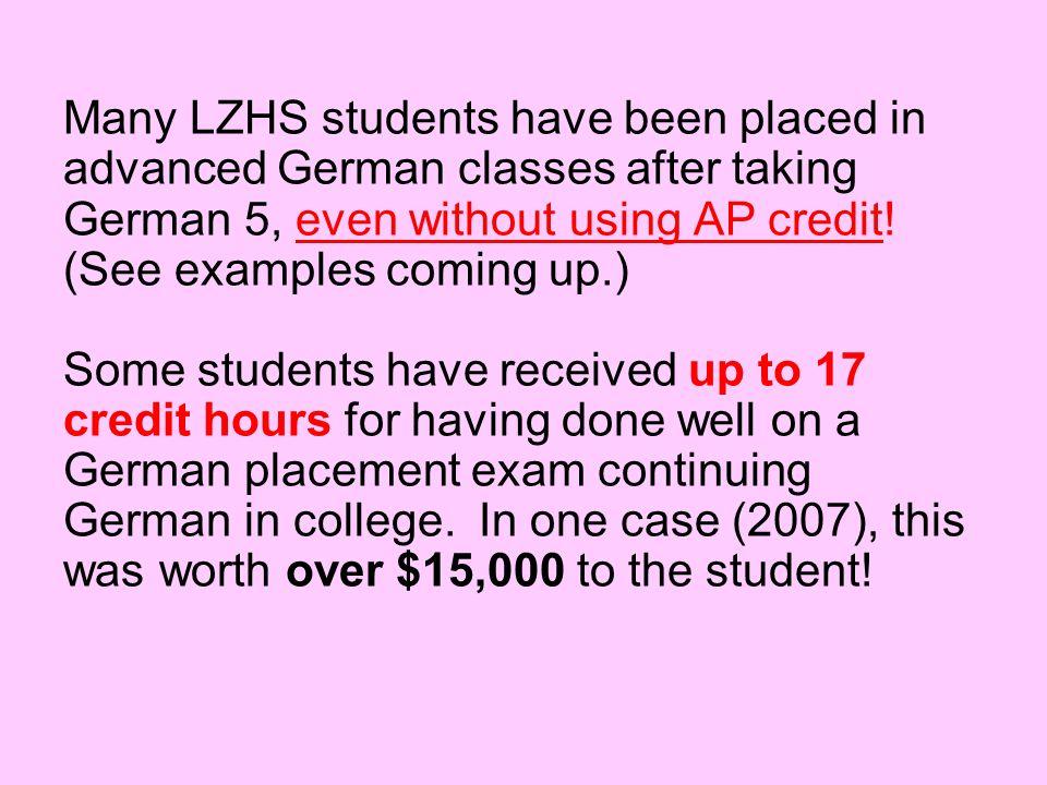 News from former LZHS German 5 students : 7-2008 Herr Z, Wie geht es Ihnen.