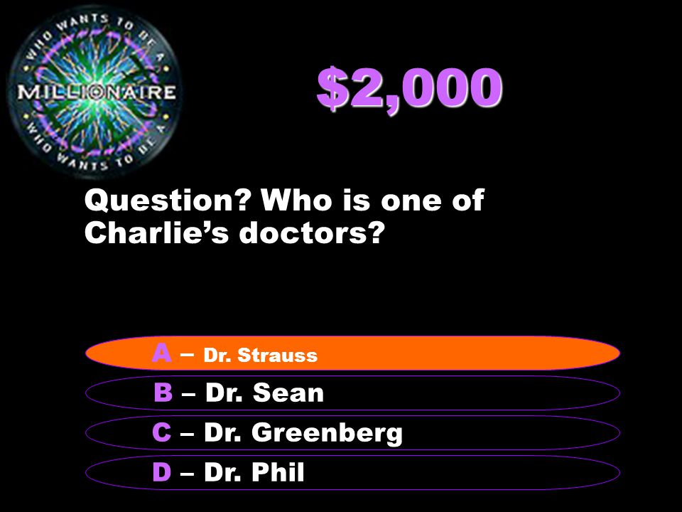 $4,000 Question.Who are Joe and Frank.