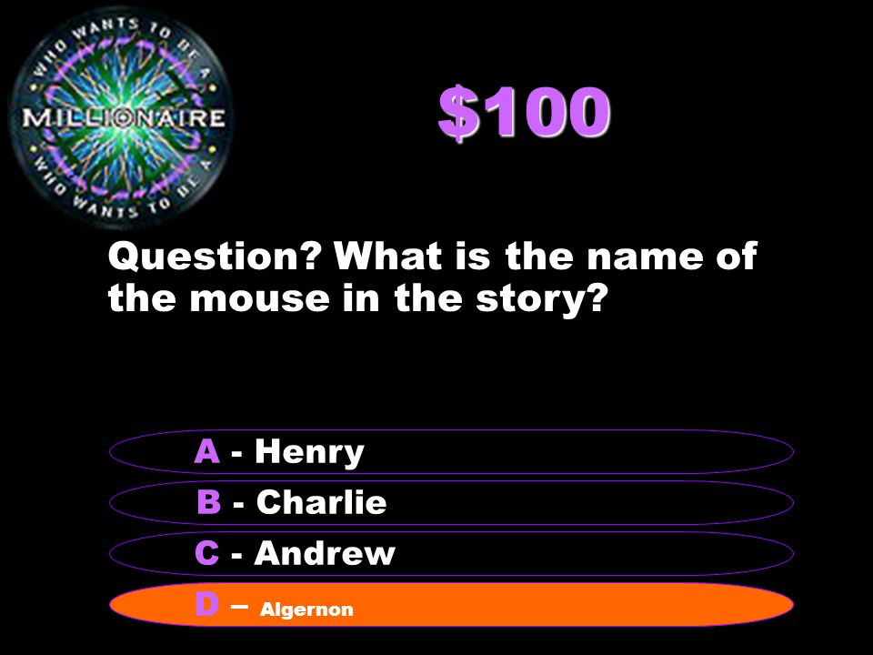 $200 Question.Who is Charlie's teacher at the adult school.