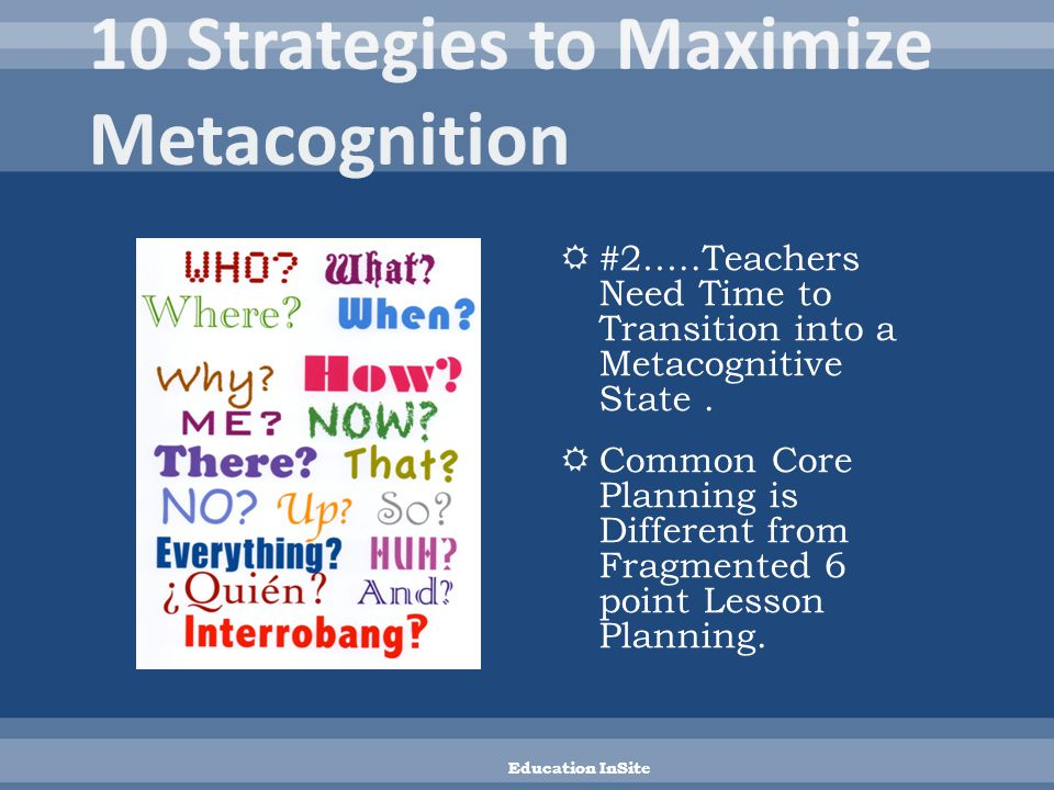  Provide Planning Time to Integrate and Investigate Common Core Connections.