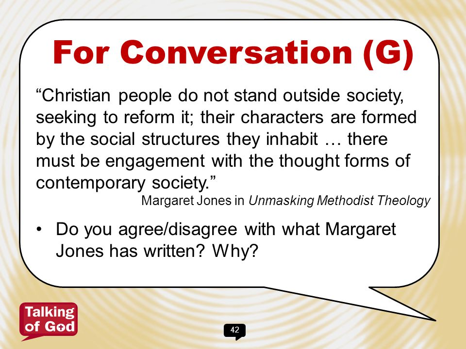 43 For Conversation (H) How do we live in a global economy whilst at the same time becoming increasingly personally isolated.