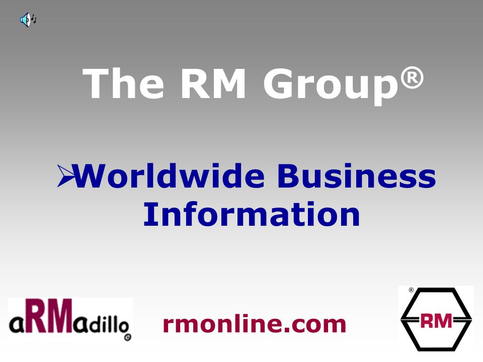 The RM Group ®  Anti Money Laundering and Credit data rmonline.com