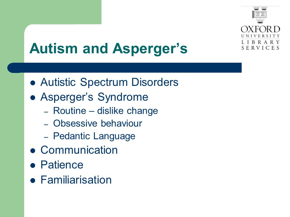 Other disabilities Speech Impairment – If you don't understand – ask.