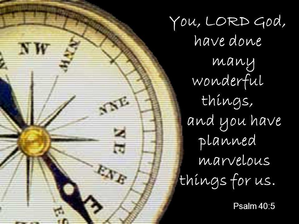 What has God got planned for you?