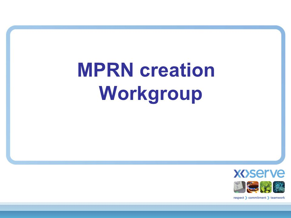  Modification update (C.Warner)  MPRN Creation Process change  Proposal update (D.Mitchell)  Consultation questions  MPRN's set to DEad in error  A.O.B.