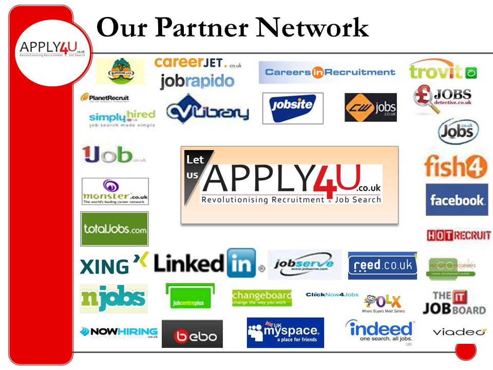 Unique Traffic  Marketing – Social media sites – Blogs – Networking events – Recruitment Fairs  SEO – e.g.