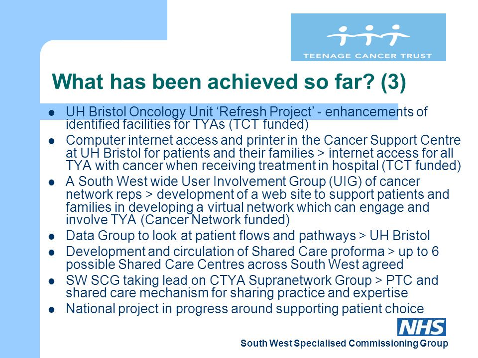 South West Specialised Commissioning Group