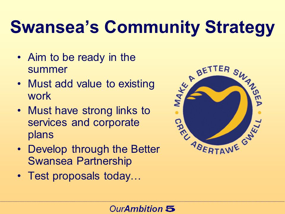 Developing Swansea's Local Service Board