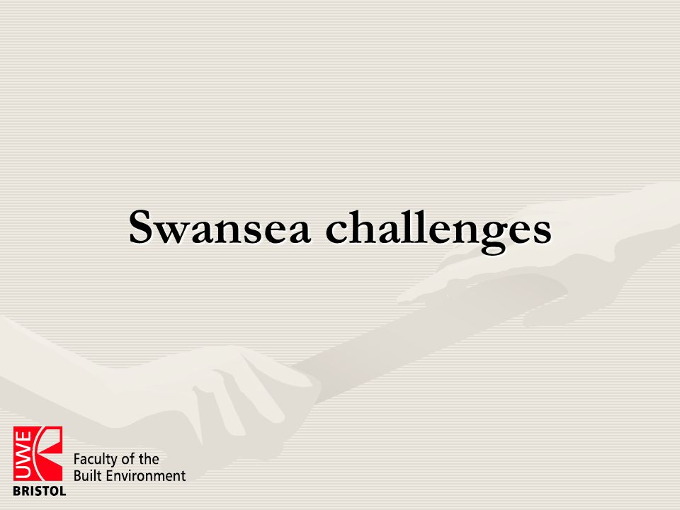 Setting priorities for the LSB OutcomesOutcomes –Must be key to Swansea 'story' –Things that cannot be achieved any other way What does success look like?What does success look like.