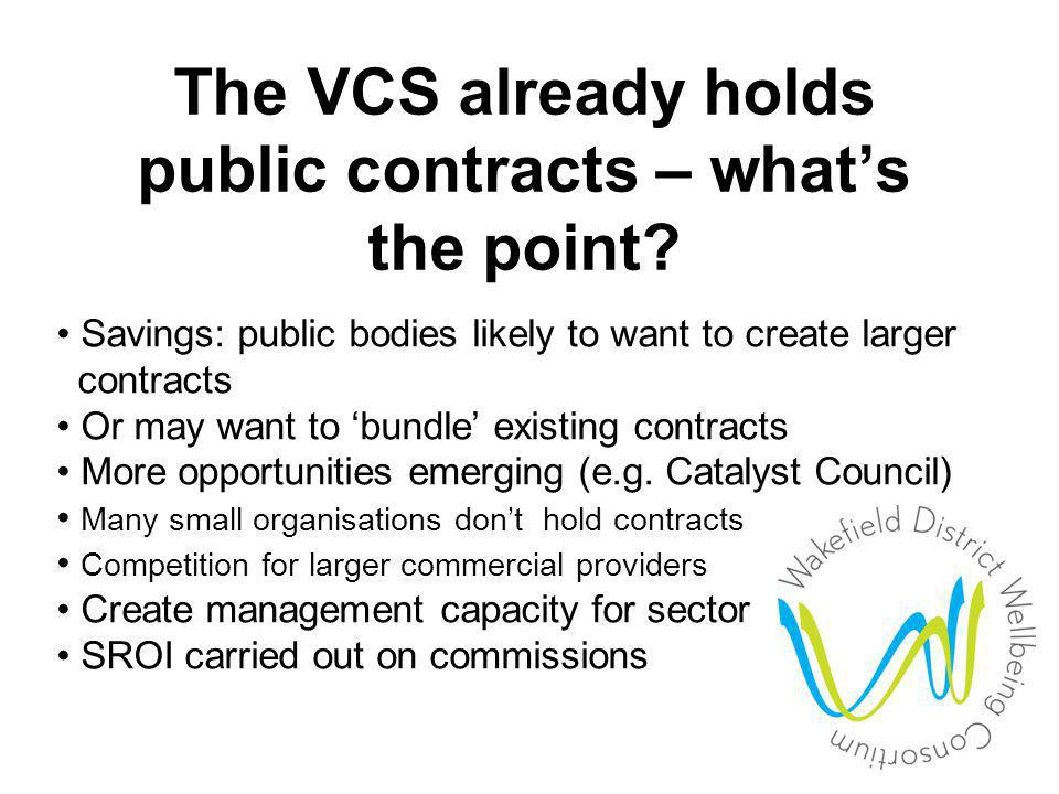 2. In strategic discussions about VCS role in new world order (i.e. post-2010)