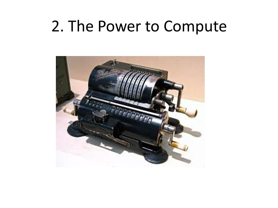 Development of Computer Power University of Manchester SSEM, 1948