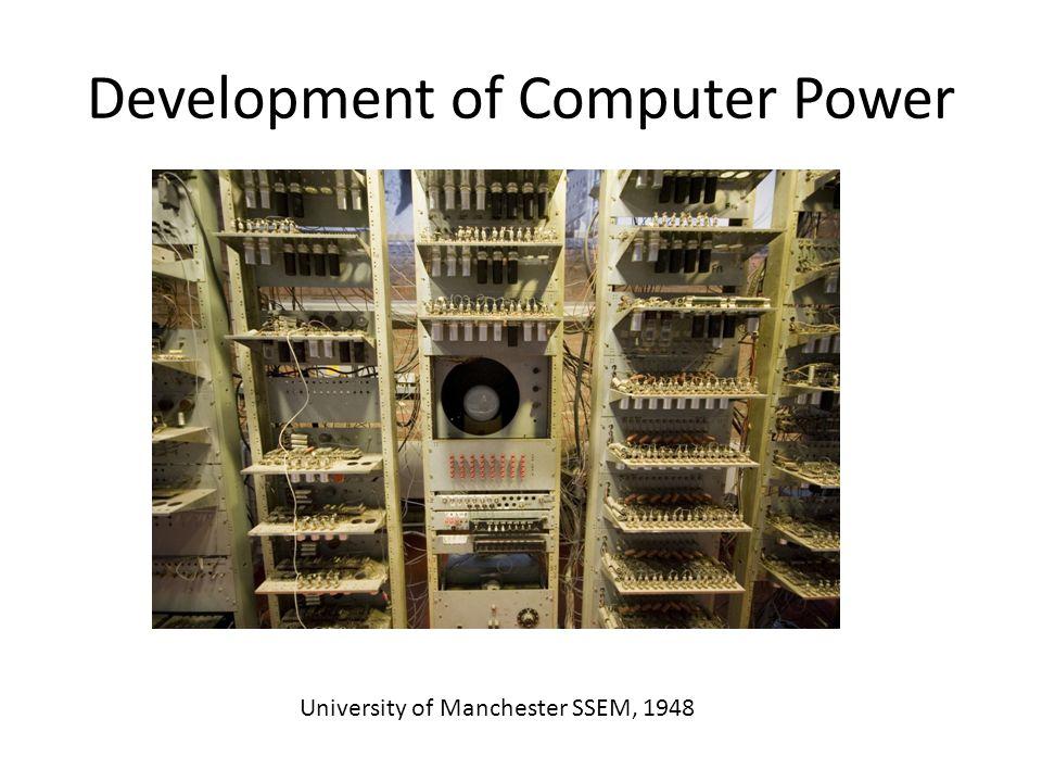 Development of Computer Power IBM Roadrunner, 2008