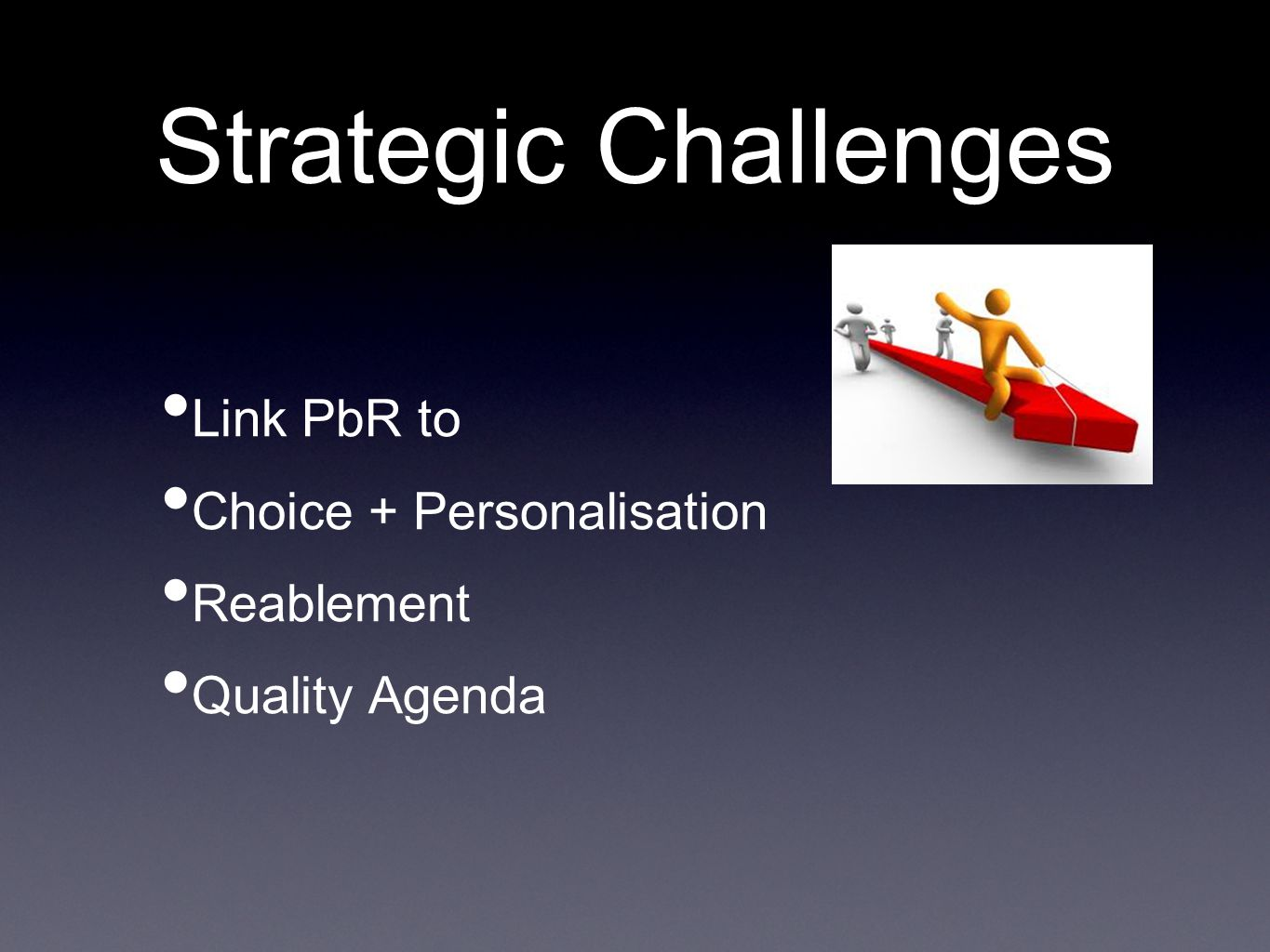 Challenges Data Quality Interpretation of Data Robust mechanism for costing