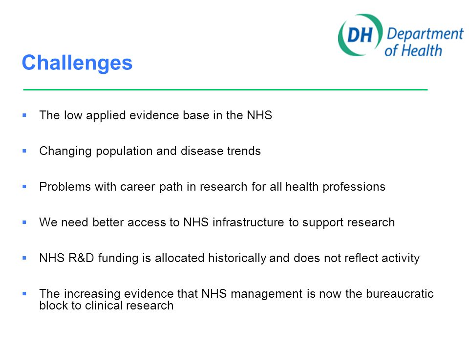 Strategic aim To use the power of research to build better services in health and social care for our patients and communities