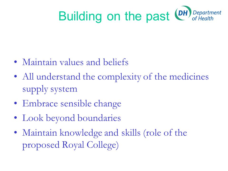 Description of professionalism –integrity –compassion –altruism –continuous improvement –excellence –working in partnership with members of the wider healthcare team Royal College of Physicians Dec 2005