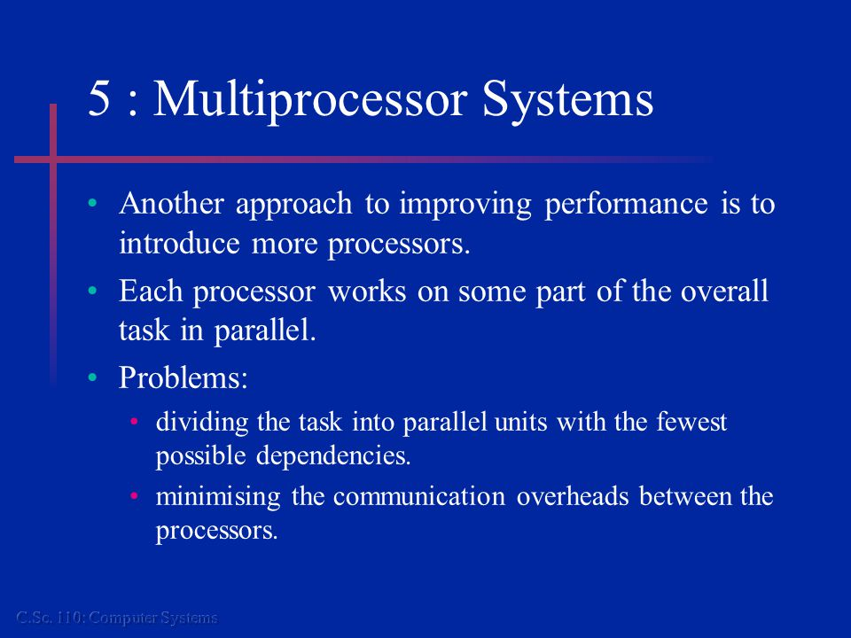 6: Operating Systems Provide a Virtual Machine Hardware Operating System Specific Interface O/S