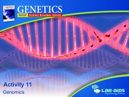 Activity 11 Genomics.