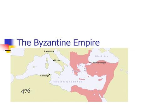 The Byzantine Empire. I. A New Rome Western Roman Emp. crumbled in 5 th cent. Capital of East = Byzantium.