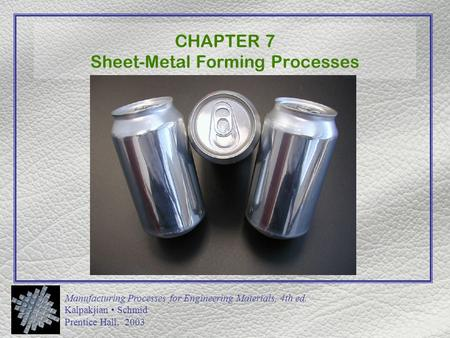 kalpakjian manufacturing processes for engineering materials pdf