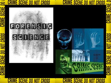 What is forensic science? Forensic Science is the application of science to the law. It often involves police officers and scientists from many branches.