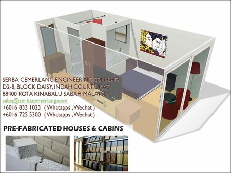 PRE-FABRICATED HOUSES & CABINS