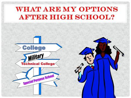 choices after high school